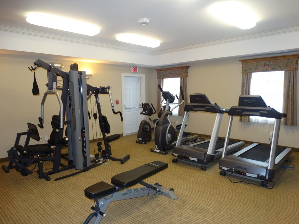 Gym in Hotel New Brunswick